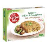 Céréal Bio galette millet et boulghour aux champignons 200g