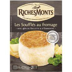 RICHESMONTS Richesmonts soufflé au fromage 160g