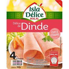 Isla Délice jambon de dinde halal 160g