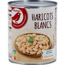 AUCHAN Auchan Haricots blancs 500g 500g