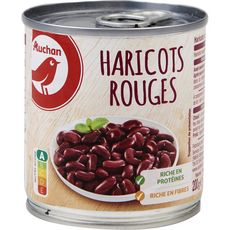 AUCHAN Auchan haricots rouges boîte 125g                  unitaire