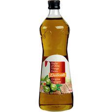 Auchan Huile d'olive vierge extra délicate origine Espagne 1l