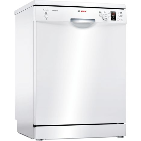 BOSCH Lave-vaisselle pose libre SMS25AW00F - 12 couverts, 60cm, 48dB, 5 programmes