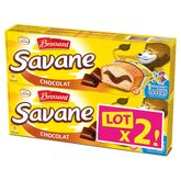 Brossard savane pocket chocolat x7 -2x189g