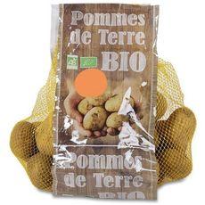 Pommes de terre de consommation brossées bio 1,5kg