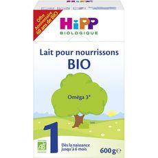 HIPP Hipp Lait 1er âge bio en poudre dès la naissance à 6 mois 600g 600g