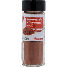 Auchan Piment de Cayenne moulu 35g