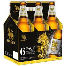 SINGER Bière thaïlandaise 5% 6x33cl