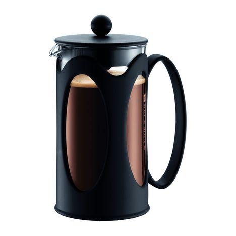 BODUM Cafetière à piston KENYA 10685-01 - Noir