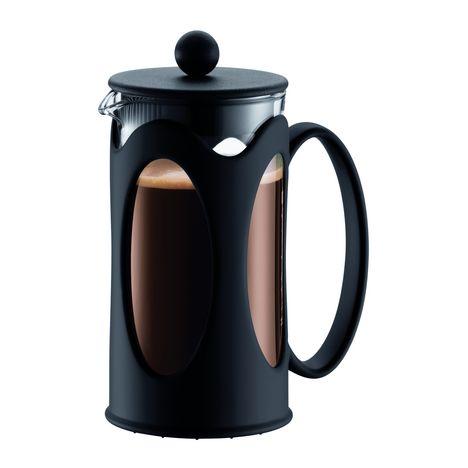 BODUM Cafetière à piston KENYA 10682-01 - Noir