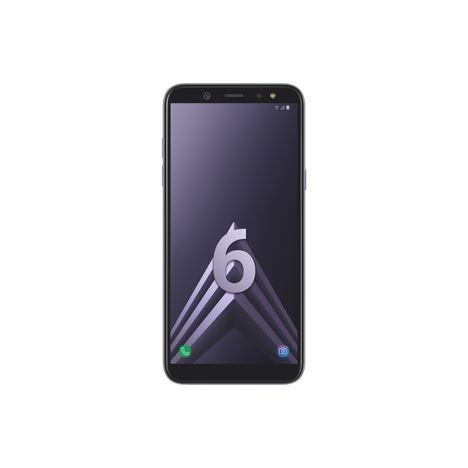 SAMSUNG Smartphone - Galaxy A6+ - 32 Go - 6.0 pouces - Bleu argenté - Double SIM