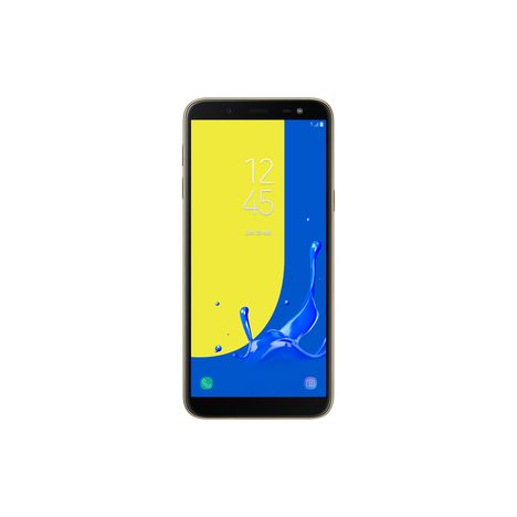 SAMSUNG Smartphone - Galaxy J6 - 32 Go - 5.6 pouces - Or - Double SIM