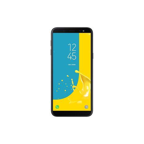 SAMSUNG Smartphone - Galaxy J6 - 32 Go - 5.6 pouces - noir- double SIM