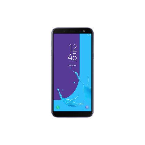 SAMSUNG Smartphone - Galaxy J6 - 32 Go - 5.6 pouces - Bleu argenté - Double SIM