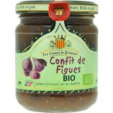 Les Comtes de Provence confit de figues bio 250g