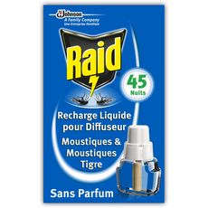 Raid Recharge pour diffuseur électrique anti-moustiques x1