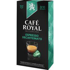 Café Royal decaffeinato nespresso capsule x10 -50g