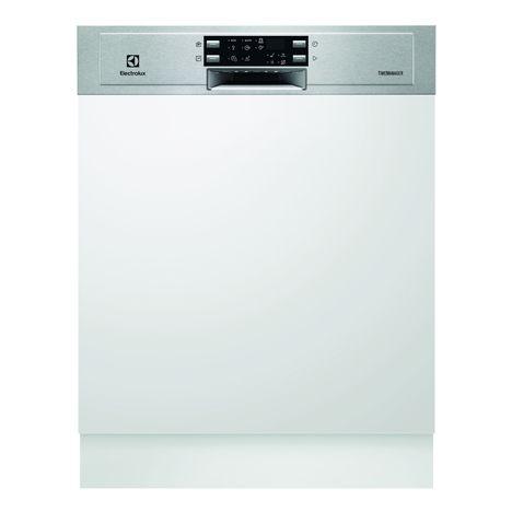 ELECTROLUX Lave-vaisselle semi encastrable ESI5533LOX - 13 Couverts, 60 cm, 45 dB, 6 Programmes