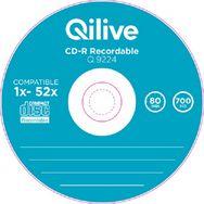 QILIVE Lot de 10 CD-R 700MB SPINDLE