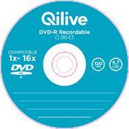 QILIVE Lot de 10 DVD-R Spindle 4.7 GB Q.9643