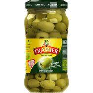Tramier olives vertes dénoyautées bocal 160g