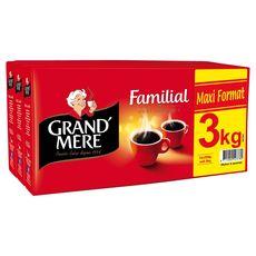 GRAND'MERE Grand Mère Café moulu 8x250g 8x250g