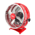 QILIVE Ventilateur de table 888299 rouge