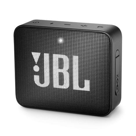 JBL Mini enceinte portable Bluetooth étanche - Noir - GO 2
