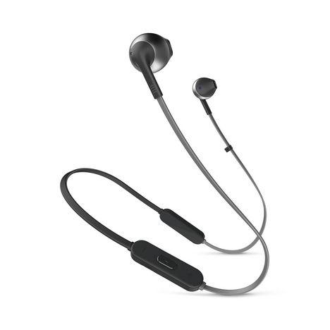 JBL Écouteurs sans fil Bluetooth - Noir - T205BT