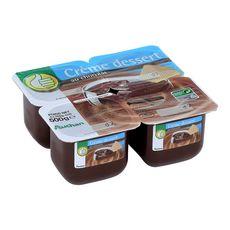 POUCE Pouce crème dessert saveur chocolat 4x125g