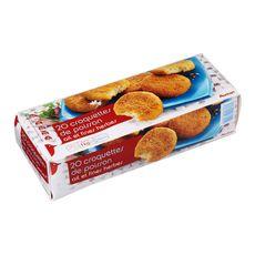 AUCHAN Auchan Croquette de poisson 1kg 20 pièces 1kg