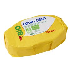 AUCHAN BIO Fromage ovale 180g