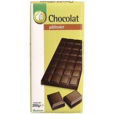 POUCE Tablette de chocolat noir pâtissier 200g