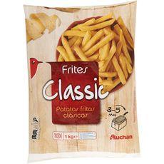 AUCHAN Auchan Frites classic 1kg
