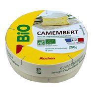 Auchan bio camembert 250g