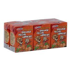 Rik & Rok nectar multifruit orange pêche abricot 6x20cl