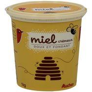 Auchan miel crémeux 1kg