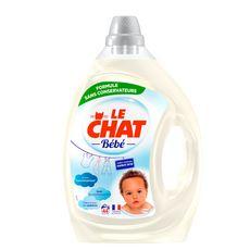 LE CHAT BEBE Lessive liquide élaboré avec des pédiatres 44 lavages 2,2l