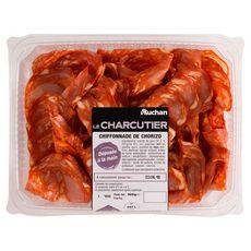 AUCHAN LE CHARCUTIER Auchan Le Charcutier Chiffonnade de chorizo 160g 160g