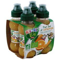 Rik & Rok pur jus orange bio 4x20cl