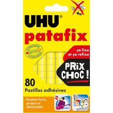 Uhu patafix jaune 80pastilles prix choc