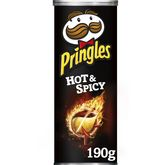 Pringles hot and spicy 190g