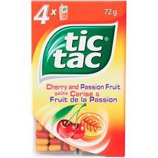 Tic Tac cerise passion étui x4 -64g