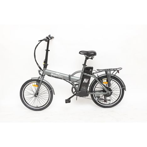 MOOVWAY Vélo électrique - Urban city - Gris