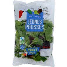 Auchan Jeunes pousses d'épinards et de laitues vertes et rouges 200g