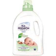 PERSAVON Lessive liquide bébé hypoallergénique 100% origine végétale 27 lavages 1,485l