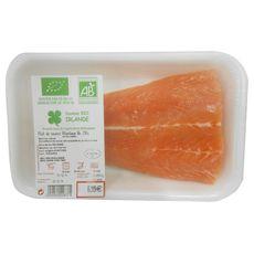 barquette 250 filet saumon bio
