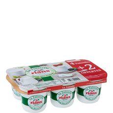 Rians La Faisselle Fromage blanc de campagne 6x100g dont 2 offertes