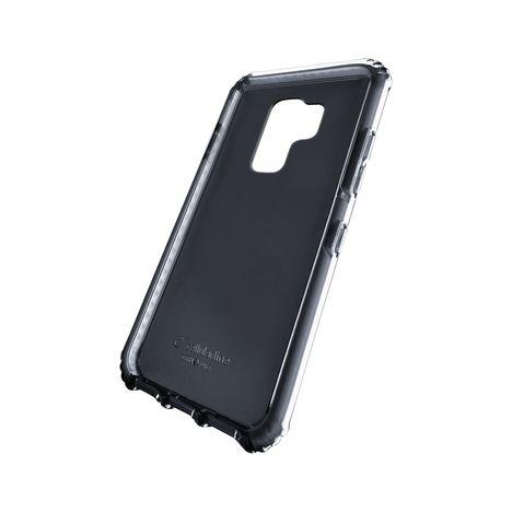 CELLULARLINE Coque Tetra Force Shock pour Galaxy S9+ - Transparent et noir
