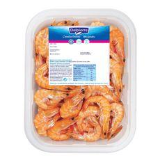 crevettes roses cuites réfrigérées 100/120 barquette 500g